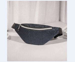 Glittery Reversible Fanny Pack