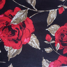 Load image into Gallery viewer, Woven Cotton Spandex Fabric - Floral - You've Got Me In Stitches
