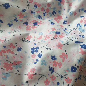 100% Cotton Fabric floral print - You've Got Me In Stitches