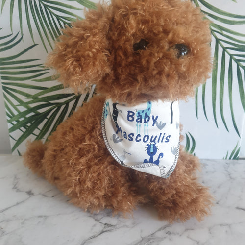 Personalised stuffed toy dog - You've Got Me In Stitches