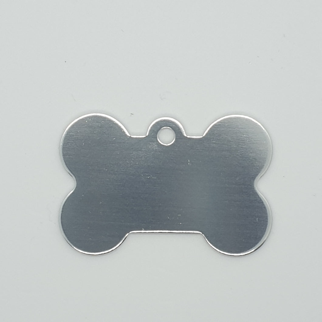 Blank Bone Shape Animal Pet Tag (Dog, Cat and Others) - Various Colours