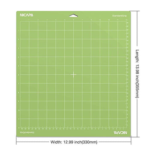Nicapa Cricut Cutting Mat - Standard Grip - 12 x 12 inch - 30x30cm - 1 pack - You've Got Me In Stitches