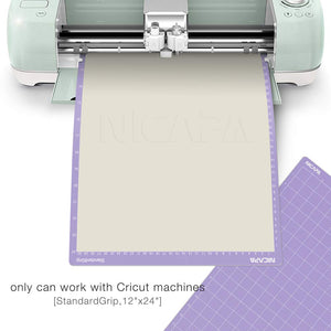 Nicapa Cricut Cutting Mat - Strong Grip - 12 x 24 inch - 30x60cm - 3 pack - You've Got Me In Stitches