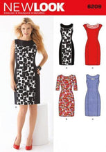 Load image into Gallery viewer, New Look Pattern 6209 Misses Dress
