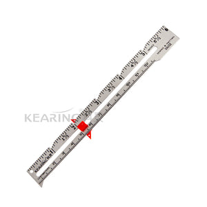 Kearing Metal Sewing Measurement Gauge