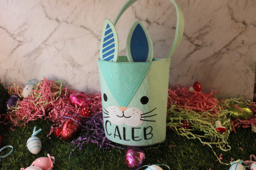 Personalised Easter hunt Felt Buckets - You've Got Me In Stitches