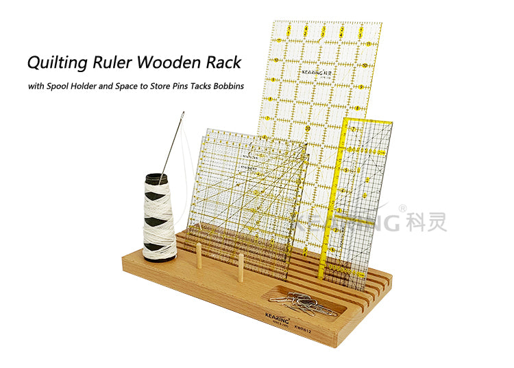 Kearing Wooden Ruler Rack