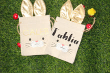 Load image into Gallery viewer, Personalised Happy Easter Hunt Bags - Small - You've Got Me In Stitches