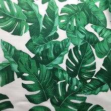 Load image into Gallery viewer, Tropical leaves 100% cotton poplin