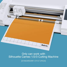 "Load image into Gallery viewer, MAKNTO Cutting Mats - suitable for Silhouette - 12""x12"" (30cm x 30cm) - You've Got Me In Stitches"