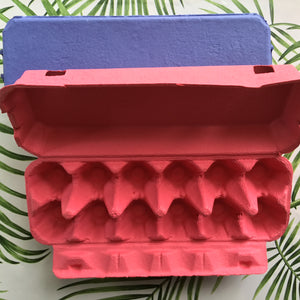 Pink Egg Cartons - 12 egg - 10 Pack