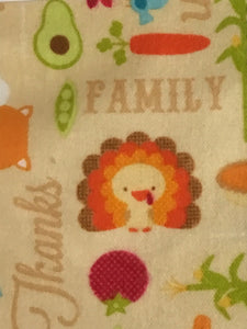Autumn Country living inspired Cotton Flannel