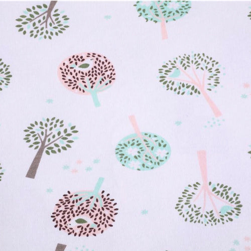Trees - 2 way stretch 100% Cotton Jersey fabric - You've Got Me In Stitches