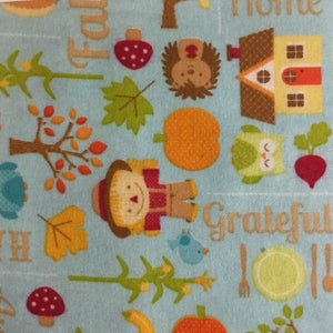 Riley Blake designs Autumn Country living inspired Cotton Flannel - You've Got Me In Stitches