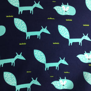 Contemporary Fox print 100% cotton poplin - You've Got Me In Stitches