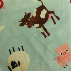 Riley Blake designs Farm animals 100% cotton flannel
