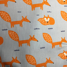 Load image into Gallery viewer, Contemporary Fox print 100% cotton poplin - You've Got Me In Stitches