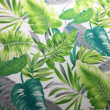 Load image into Gallery viewer, Colourful tropical leaves 100% cotton Poplin fabric - You've Got Me In Stitches