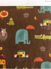 Load image into Gallery viewer, Riley Blake designs Noah's ark 100% cotton flannel - You've Got Me In Stitches