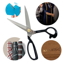 Load image into Gallery viewer, Kearing Heavy Duty Tailors Shears