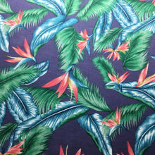 Load image into Gallery viewer, Birds of paradise 100% Cotton Poplin Print - You've Got Me In Stitches