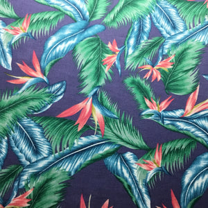 Birds of paradise 100% Cotton Poplin Print - You've Got Me In Stitches