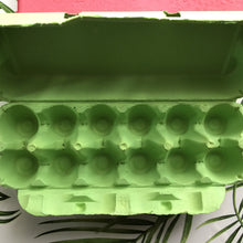 Load image into Gallery viewer, Green Egg Cartons - 12 egg - 10 Pack