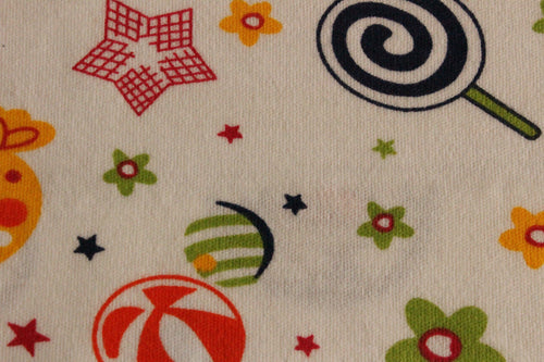 Lollies and sweets - 2 way stretch 100% Cotton Jersey