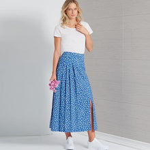 Load image into Gallery viewer, New Look Pattern N6659 Misses' Pleated Skirt With Or Without Front Slit Opening