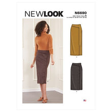 Load image into Gallery viewer, New Look Sewing Pattern N6690 Misses' Skirts