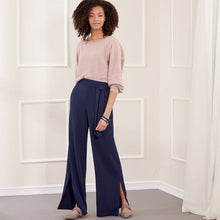 Load image into Gallery viewer, New Look Sewing Pattern N6691 Misses' Slim Or Flared Pants