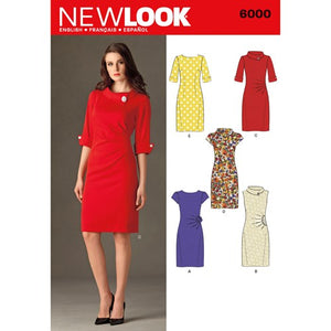 New Look Pattern 6000 Misses' Dresses