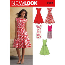 Load image into Gallery viewer, New Look Pattern 6094 Misses' Dresses