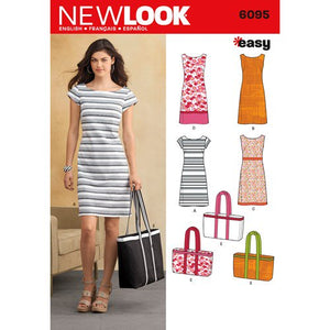 New Look Pattern 6095 Misses' Dresses - You've Got Me In Stitches