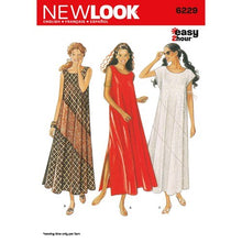 Load image into Gallery viewer, New Look Pattern 6229 Misses Dresses