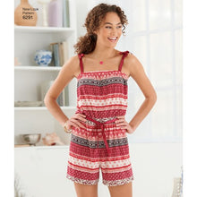 Load image into Gallery viewer, New Look Pattern 6291 Misses' Jumpsuit & Dress Each in Two Lengths