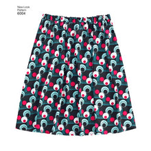 Load image into Gallery viewer, New Look Pattern 6004 Misses' Learn to Sew Skirts