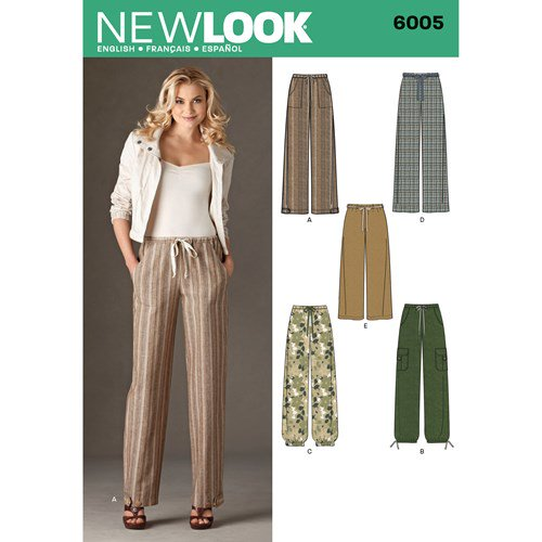 New Look Pattern 6005 Misses' Pants - You've Got Me In Stitches