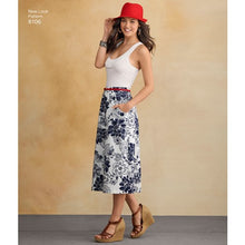 Load image into Gallery viewer, New Look Pattern 6106 Misses' Skirts