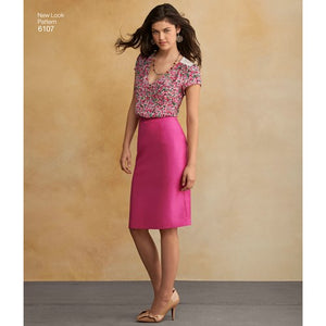 New Look Pattern 6107 Misses' Separates