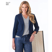 Load image into Gallery viewer, New Look Pattern 6351 Misses' Jacket, Pants, Skirt and Knit Top