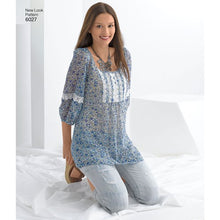 Load image into Gallery viewer, New Look Pattern 6027 Misses' Tunic or Tops