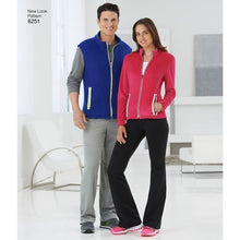 Load image into Gallery viewer, New Look Pattern 6251 Misses' and Men's Jacket or Vest