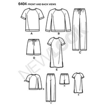 Load image into Gallery viewer, New Look Pattern 6404 Misses' and Men's Separates