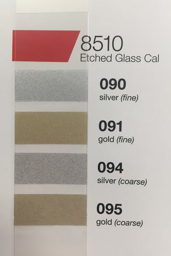 ORACAL 8510 Glass Etching Vinyl - 30cm x 1m