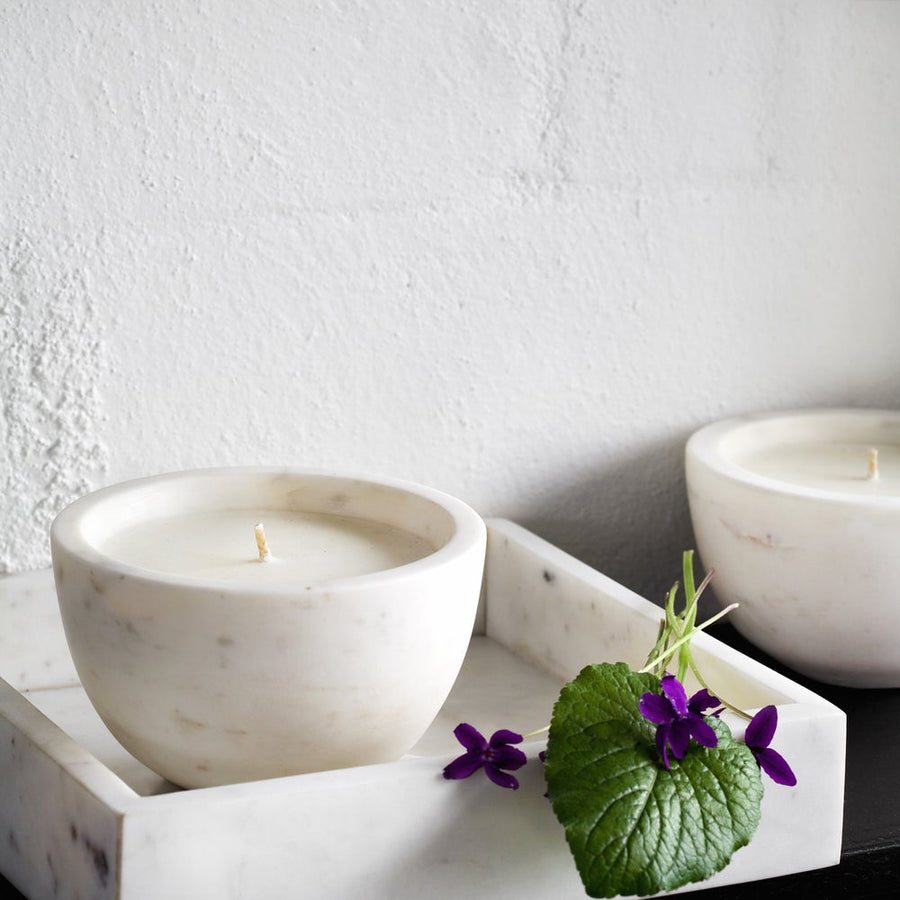 Marble Candle bowl