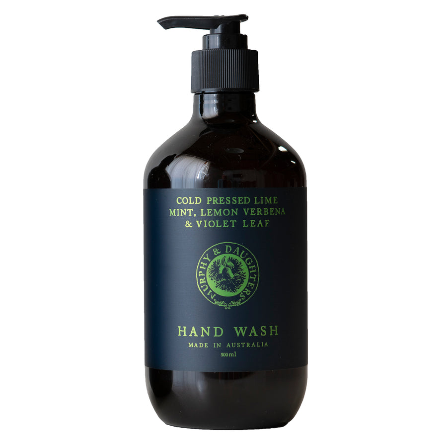 Hand & body wash - Cold Pressed Lime, Mint, Lemon Verbena and Violet Leaves