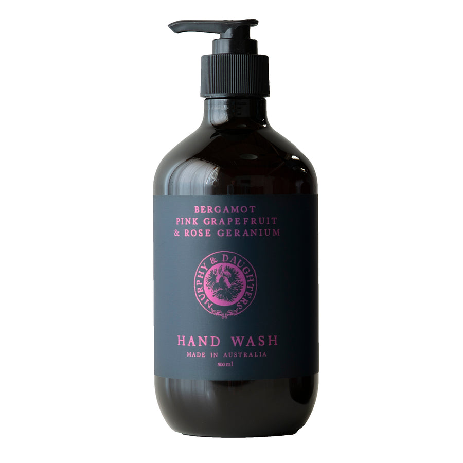Hand & body wash - Bergamot, Pink Grapefruit and Rose Geranium