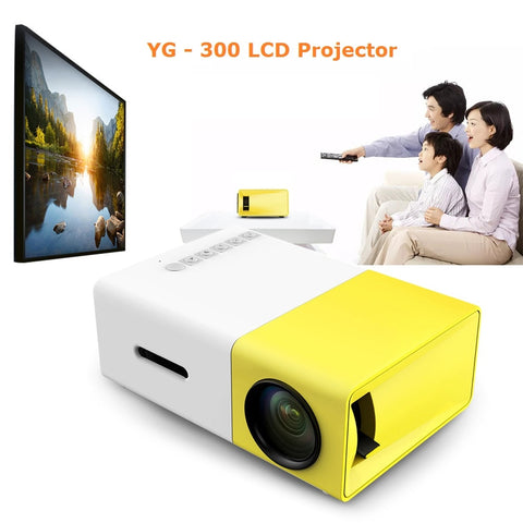 Mini Projetor Cine-Smart 1080P