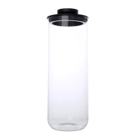 Airtight Glass Jars 1800ml (Black) - Modern Collection